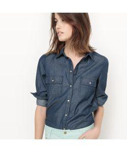 R édition | Рубашка Из Денима 100 Хлопка