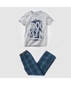 R teens | Пижама Из Двух Материалов С Рисунком Brooklyn 1016 Лет