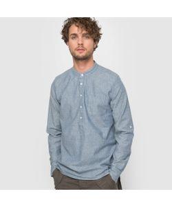 R édition | Рубашка Из Шамбре В Очень Мелкий Горох
