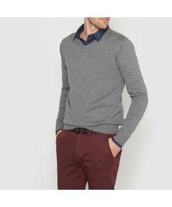 R essentiel | Пуловер С V-Образным Вырезом 100 Хлопка