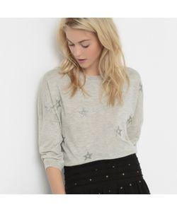 SUD EXPRESS | Пуловер С Принтом Сверкающие Звезды Sous-Colmeriny