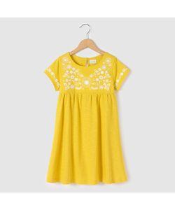 R kids | Платье С Вышивкой И Короткими Рукавами 3-12 Лет