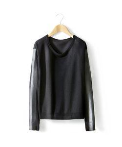 Мини-цена | Пуловер С Круглым Вырезом И Длинными Рукавами