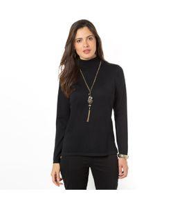 ANNE WEYBURN | Пуловер С Высоким Воротником 50 Мериносовой Шерсти