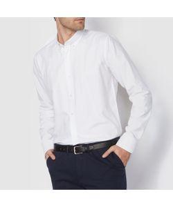 R essentiel   Рубашка Прямого Покроя С Длинными Рукавами Oxford