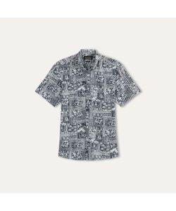 The Kooples   Рубашка С Короткими Рукавами С Принтом