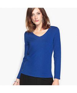 ANNE WEYBURN | Пуловер С V-Образным Вырезом Из Шерсти И Альпаки