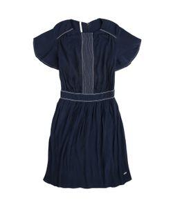 Pepe Jeans London | Платье Короткое Из Полиэстера С Короткими Рукавами