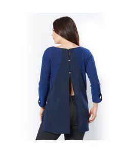 TAILLISSIME | Пуловер С Отделкой Кружевом И Прозрачной Тканью На Спинке