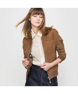 Schott | Куртка-Бомбер Из Замши