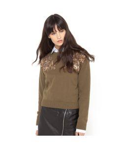 SOFT GREY | Пуловер С Пайетками