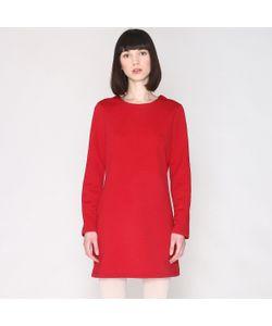Pepaloves | Платье Прямое В Стиле Свитшота С Длинными Рукавами