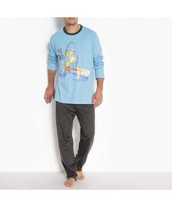 Simpsons | Пижама С Длинными Рукавами И Рисунком