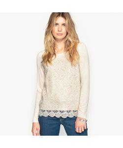 ANNE WEYBURN | Пуловер Оригинальный Из Гипюра