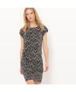 R édition | Платье С Короткими Рукавами Из Блестящей Ткани