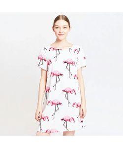 MIGLE+ME | Платье С Рисунком Фламинго