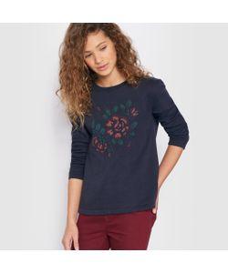 R pop | Пуловер С Вырезом Трапеция И Вышивкой В Виде Цветов 10-16 Лет