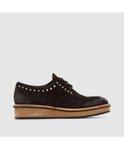 Mjus | Ботинки-Дерби Кожаные Caviar
