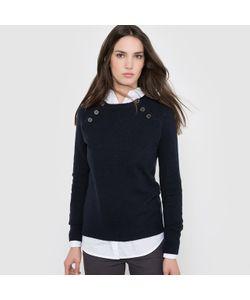 R essentiel | Пуловер Однотонный C Застежкой На Пуговицы
