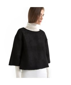 Мини-цена   Пуловер Короткий 30 Шерсти
