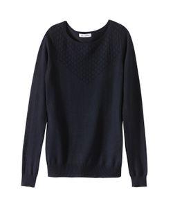 R édition   Пуловер Хлопковый С Ажурным Верхом