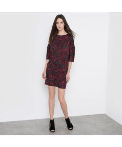 R essentiel   Платье Свободное С Графичным Рисунком