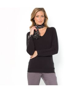 ANNE WEYBURN | Пуловер С V-Образным Вырезом