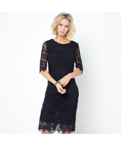 LAURA CLEMENT | Платье Из Гипюра 100 Хлопка