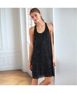 SOFT GREY | Платье Из Блестящей Ткани Без Рукавов