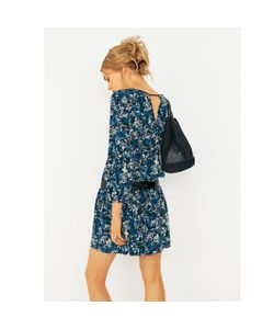 Мини-цена | Платье Прямое С Цветочным Рисунком