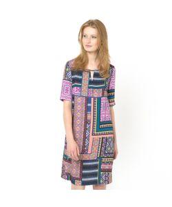 SOFT GREY | Платье С Рисунком Платка