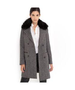 LAURA CLEMENT | Пальто Со Съемным Воротником