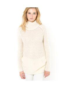 SOFT GREY | Пуловер С Высоким Воротником