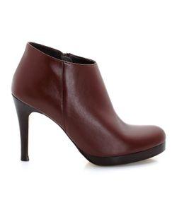 JONAK | Ботинки Низкие На Высоких Каблуках С Застежками На Молнию