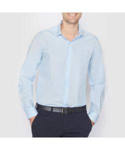 R essentiel | Рубашка Из Поплина Стандартного Покроя. Длинные Рукава