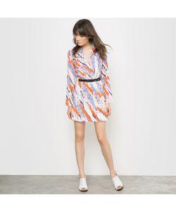 CARVEN POUR LA REDOUTE | Платье Плиссированное С Рисунком