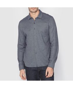 SOFT GREY | Рубашка Из Трикотажа. Длинные Рукава