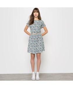 R édition | Платье Короткое С Цветочным Рисунком