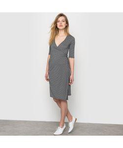 R édition | Платье С Запахом С Рисунком