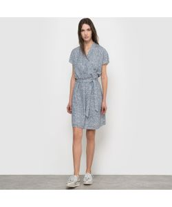 R essentiel | Платье С Рисунком И Короткими Рукавами
