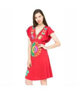 Desigual | Платье С Принтом Рукава С Воланами Vest Cepriani