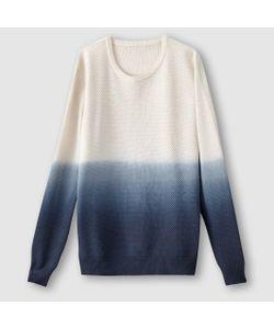 SOFT GREY | Пуловер С Эффектом Деграде Фантазийный Трикотаж