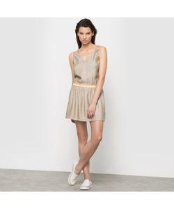 Color Block | Платье С Тонкими Бретелями