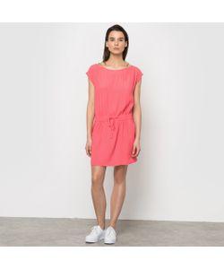 Color Block | Платье Из Струящейся Ткани С Плетеными Флуоресцентными Бретелями
