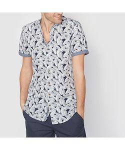 SOFT GREY | Рубашка С Рисунком И Воротником-Стойкой