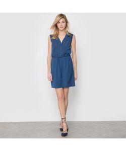 2TWO | Платье Janak Из Струящейся Вискозы Вуали С Ажурной Отделкой