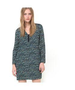 Color Block | Платье С Рисунком В Микро-Ромбы