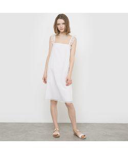 MADEMOISELLE R | Платье Из Вуали С Вышивкой