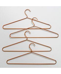 La Redoute Interieurs | Плечики Металлические Для Одежды Elori В Комплекте Из 4 Медного Цвета