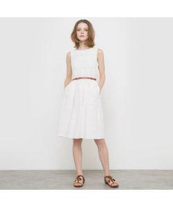 Yumi | Платье Без Рукавов На Тонких Бретелях 100 Хлопка